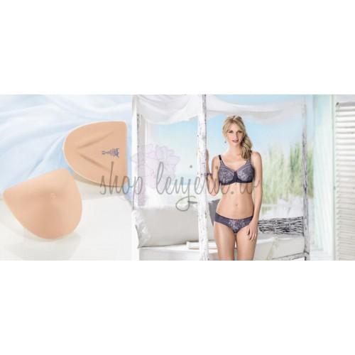 Set Proteza TwinFlex Asymmetric SoftLite 1073X si Sutien post-mastectomie Fleur 5754X