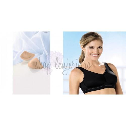 Set Proteza Trinature Asymmetric SoftLite 1081LR si Sutien bilateral post-mastectomie Viviana sport 5300X