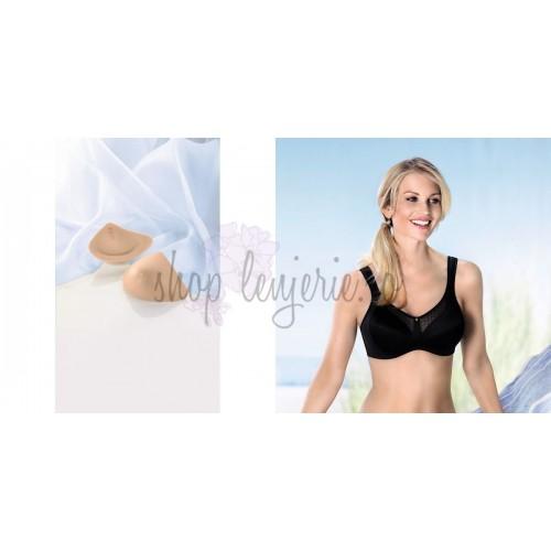 Set Proteza Trinature Asymmetric SoftLite 1081LR si Sutien post-mastectomie Valentina 5728X