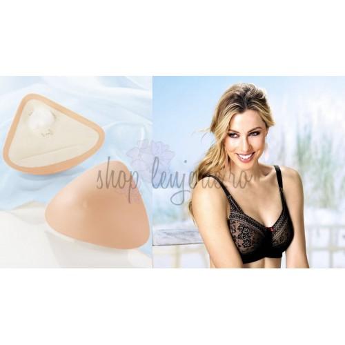 Set Proteza cu spate din microfibra TriCup SoftLite 1089X si Sutien post-mastectomie Fleur 5754X