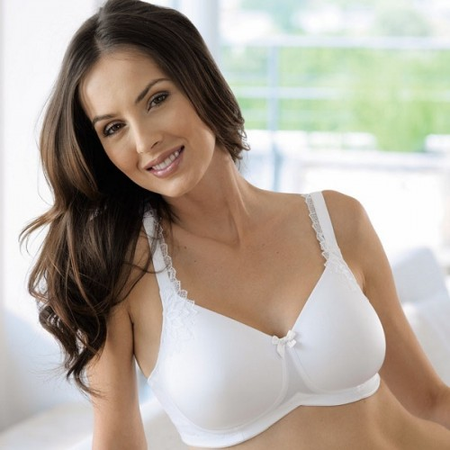 Sutien post - mastectomie cu buzunare pe ambele parti, Stella, 5715X