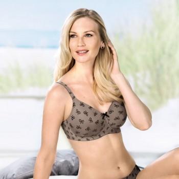 Sutien bilateral post-mastectomie cu buzunare pe ambele parti Miss Ribbon 5733X