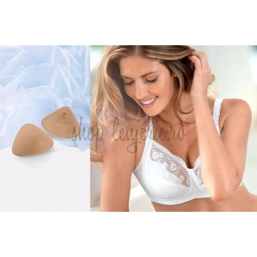 Set Proteza de silicon usor Softback 1050X si Sutien post-mastectomie Ella 5723X