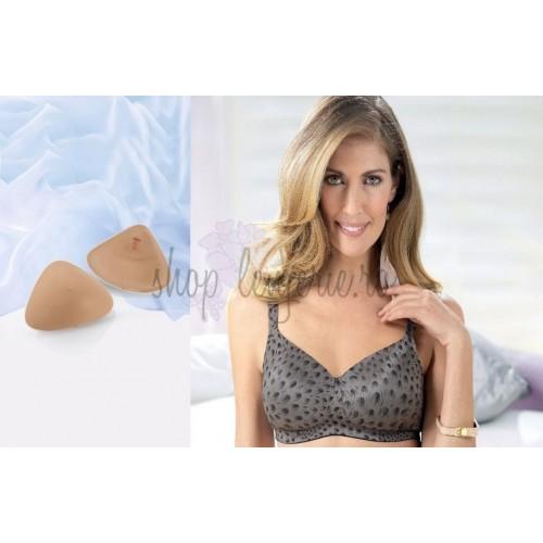 Set Proteza de silicon usor Softback 1050X si Sutien post-mastectomie Malia 5780X